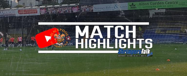 Highlights: Southend 1 Blackpool 3