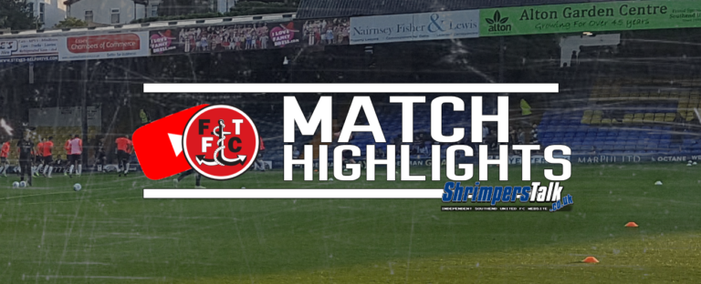 Highlights: Southend 3 Fleetwood Town 3