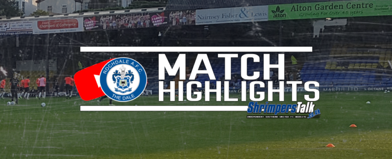 Highlights: Southend 0 Rochdale 3
