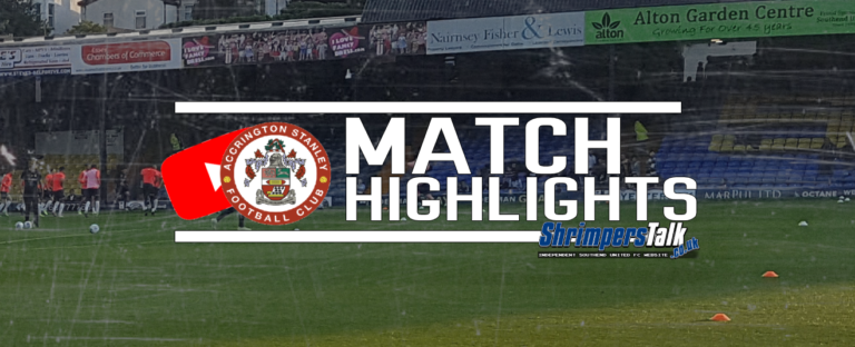 Highlights: Southend 0 Accrington Stanley 1