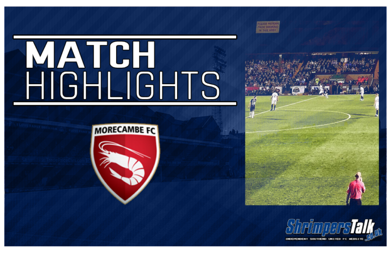 Highlights: Morecambe 1 Southend United 1