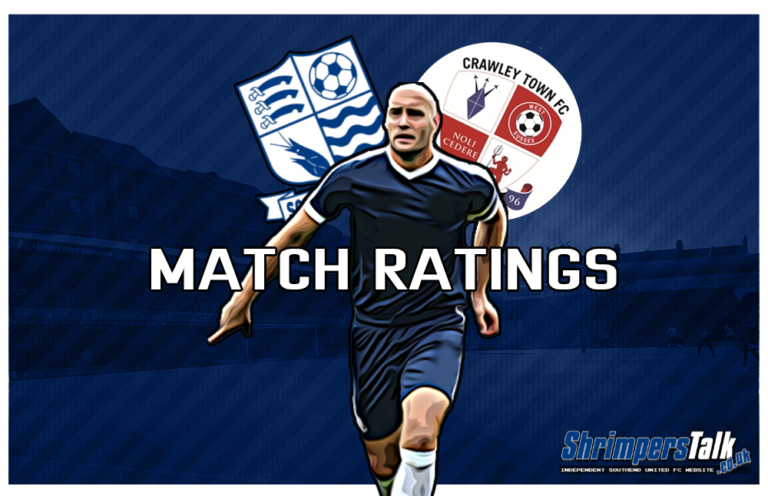 MATCH RATINGS: Rating The Shrimpers After The 0-0 Draw At Home To Crawley Town