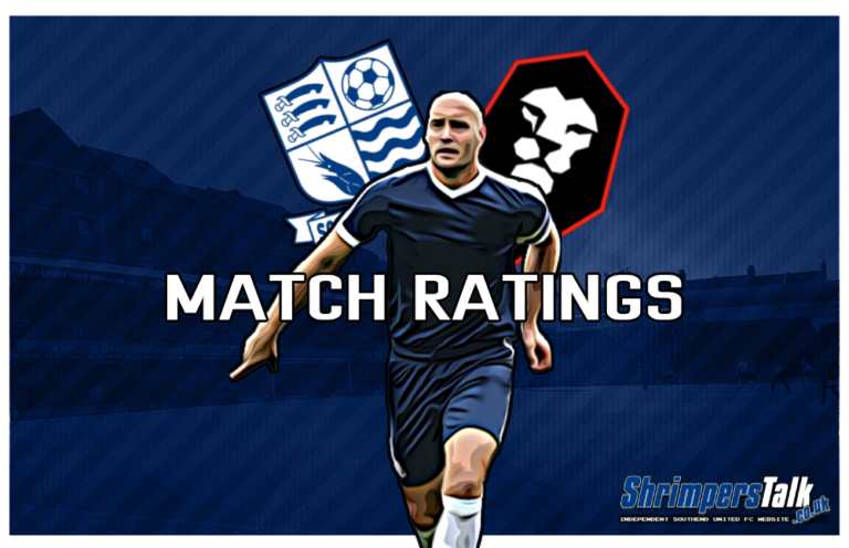MATCH RATINGS: Rating The Shrimpers After The 0-0 Draw At Home To Salford City