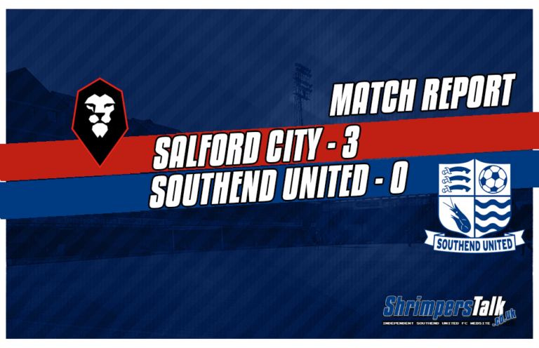 Dismal Southend Fall To Another Defeat Without So Much As A Whimper Against Salford City