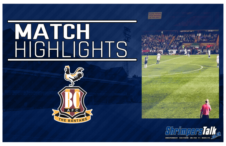 Highlights: Southend United 1 Bradford City 3