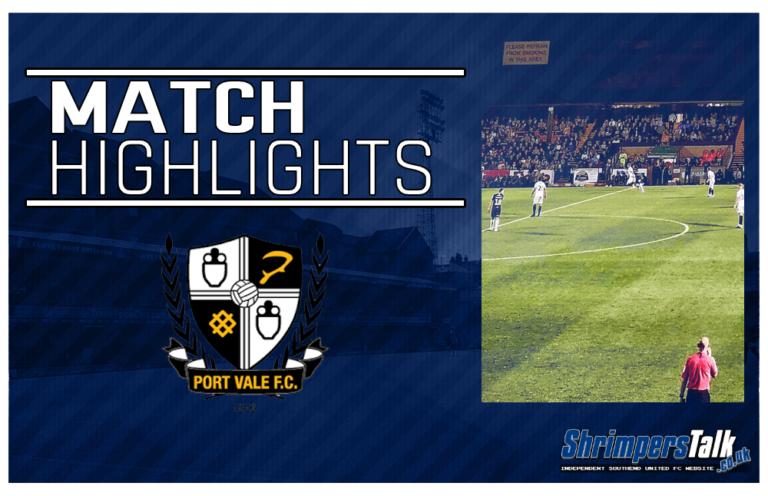 Highlights: Port Vale 5 Southend United 1