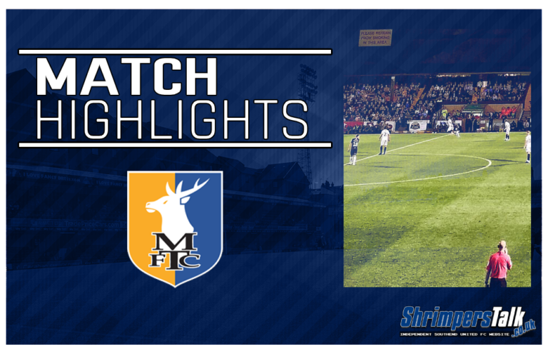 Highlights: Mansfield Town 1 Southend United 1