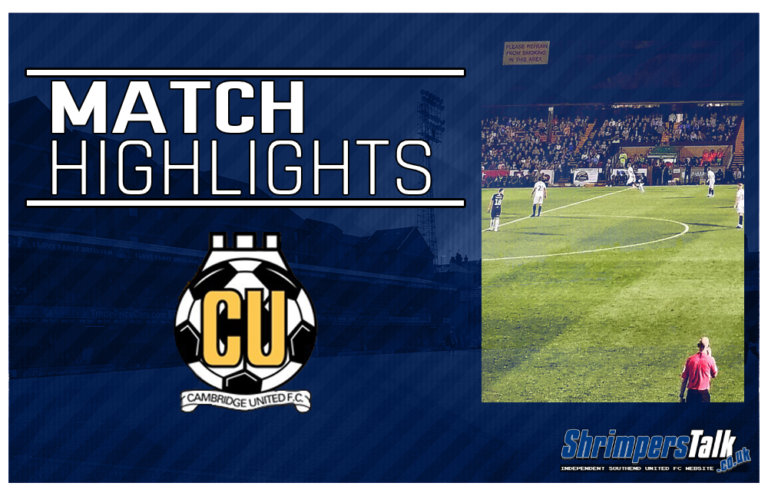Highlights: Cambridge United 0 Southend United 0