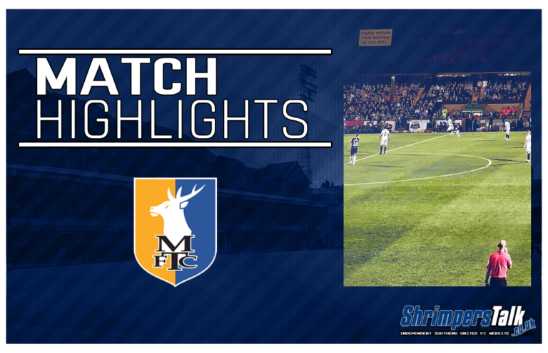 Highlights: Southend United 0 Mansfield Town 1