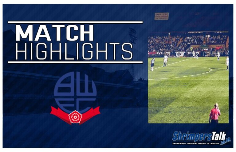 Highlights: Southend United 0 Bolton Wanderers 1