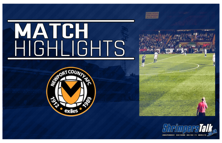 Highlights: Newport County 0 Southend United 1