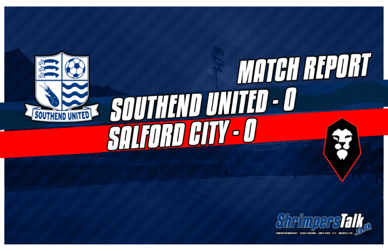 Southend Play Out A Hard Fought 0-0 Draw With Salford To Earn A Much Needed Point