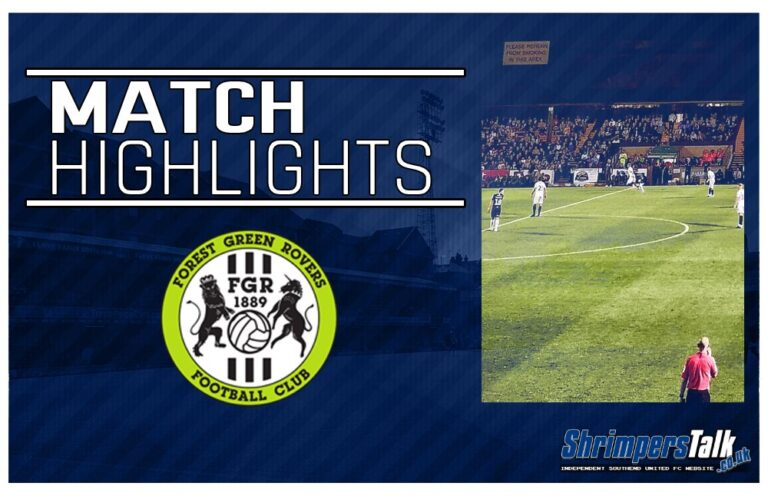 Highlights: Forest Green Rovers 1 Southend United 3