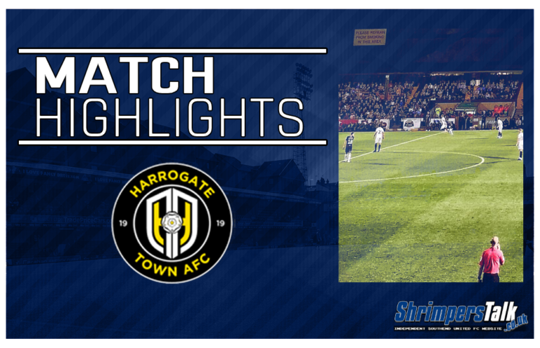 Highlights: Harrogate Town 0 Southend United 1