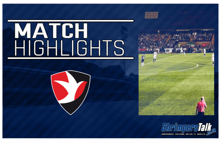 Highlights: Cheltenham Town 1 Southend United 0