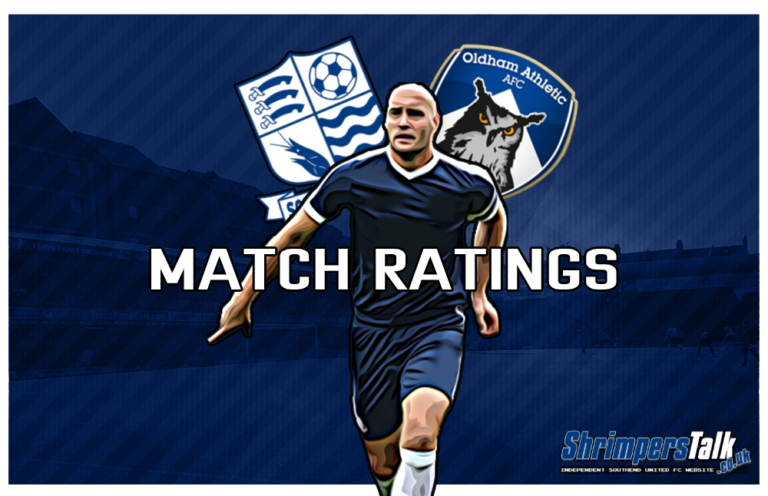 MATCH RATINGS: Rating The Shrimpers After The 0-0 Draw Away At Oldham Athletic