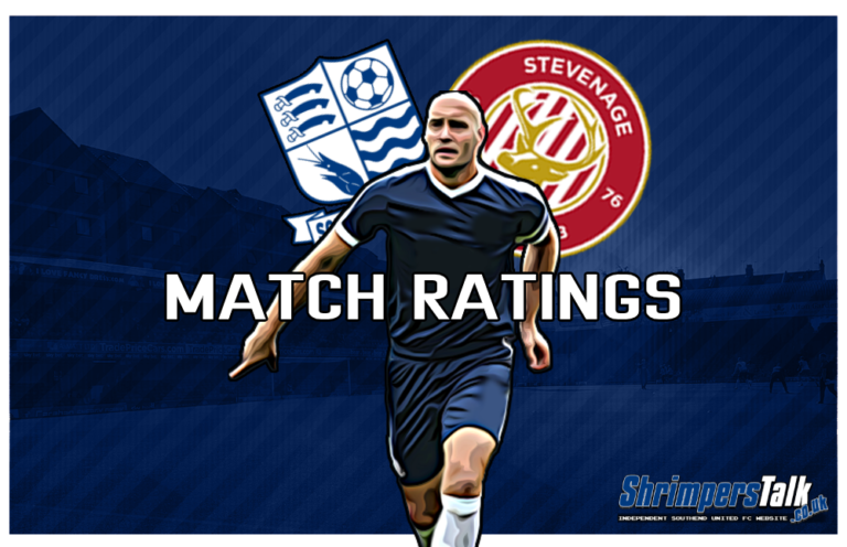 MATCH RATINGS: Rating The Shrimpers After The 0-0 Draw At Home To Stevenage