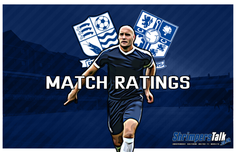 MATCH RATINGS: Rating The Shrimpers After The 0-2 Defeat At Home To Tranmere Rovers
