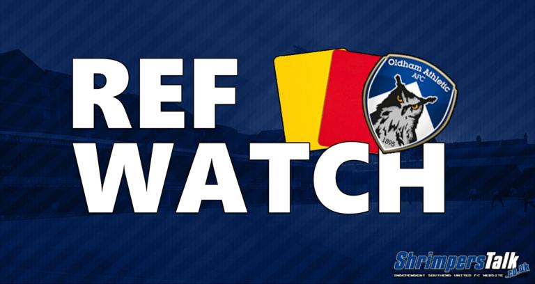 Ref Watch: v Oldham Athletic (A)