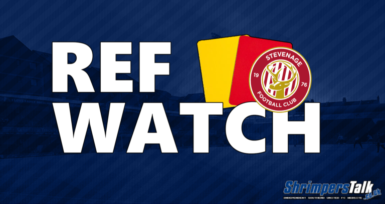 Ref Watch: v Stevenage (H)