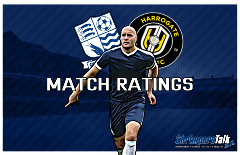 MATCH RATINGS: Rating The Shrimpers After The 0-1 Win Away At Harrogate Town