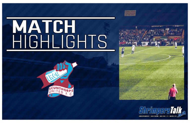 Highlights: Scunthorpe United 1 Southend United 1