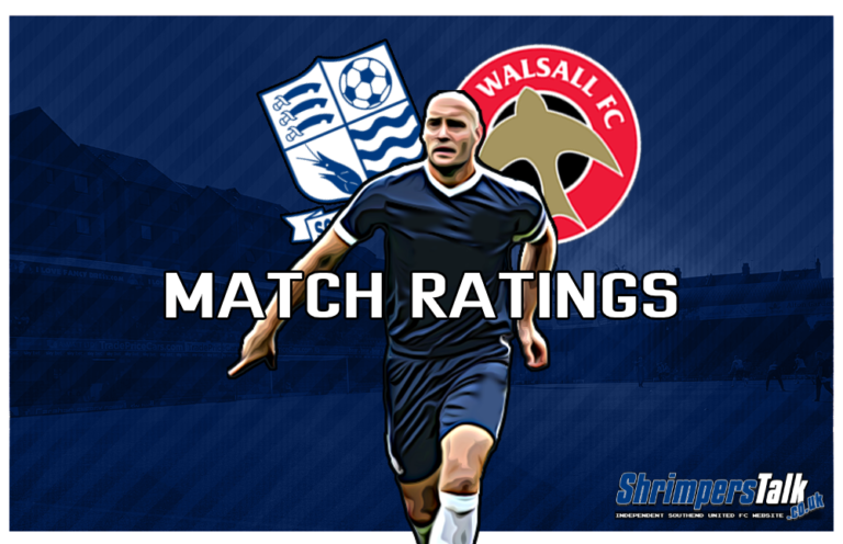 MATCH RATINGS: Rating The Shrimpers After The 0-0 Draw At Home To Walsall