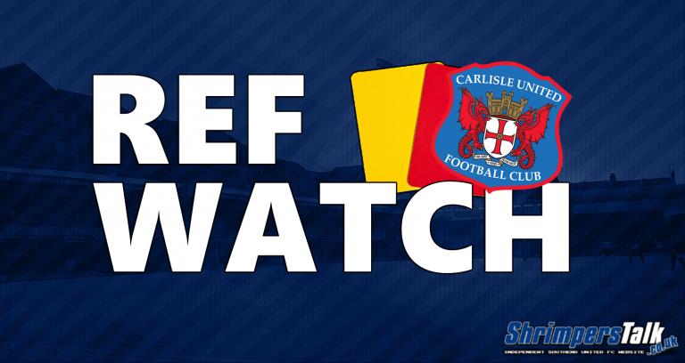 Ref Watch: Carlisle United (H)