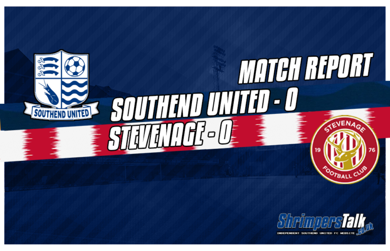 Southend Extend Those Minutes Without Scoring To 470 After A 0-0 Draw Against Stevenage At Roots Hall