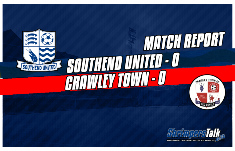 Southend and Crawley Play Out A Goalless Stalemate