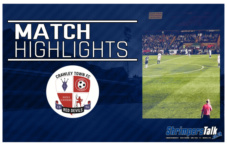 Highlights: Southend United 0 Crawley Town 0