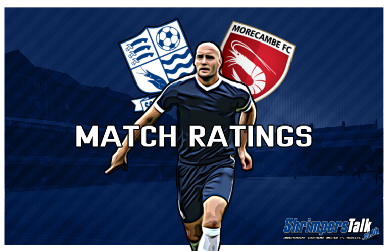 MATCH RATINGS: Rating The Shrimpers After The 1-1 Draw Away At Morecambe