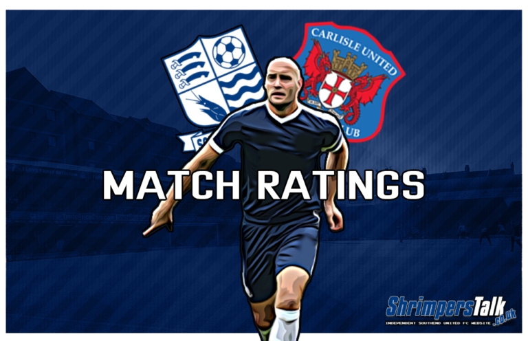 MATCH RATINGS: Rating The Shrimpers After The 0-2 Defeat At Home To Carlisle United