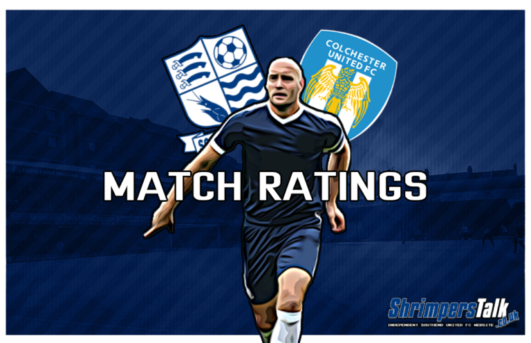 MATCH RATINGS: Rating The Shrimpers After The 2-0 Defeat Away At Colchester United