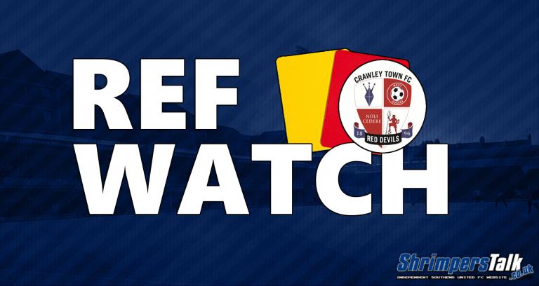Ref Watch: Crawley Town (H)