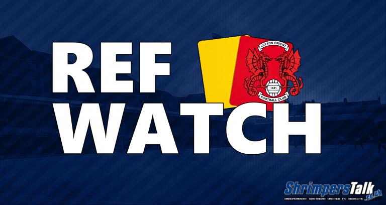 Ref Watch: Leyton Orient (H)