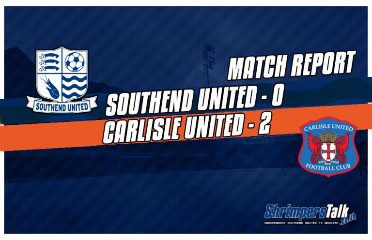 Spineless Southend Crumble At Home To Carlisle United