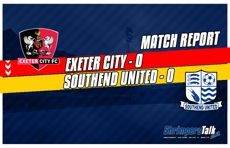 Southend Take Home A Point Away At Exeter City