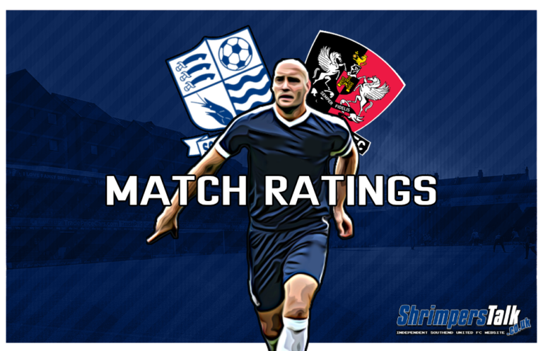 MATCH RATINGS: Rating The Shrimpers After The 0-0 Draw Away At Exeter City