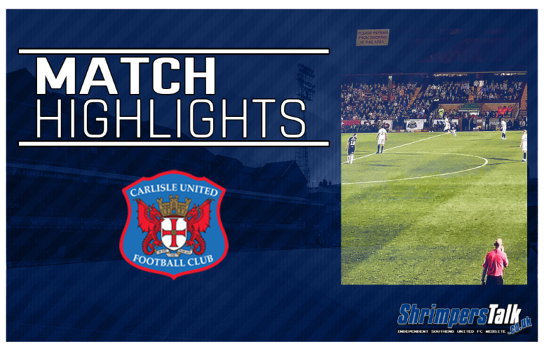 Highlights: Southend United 0 Carlisle United 2