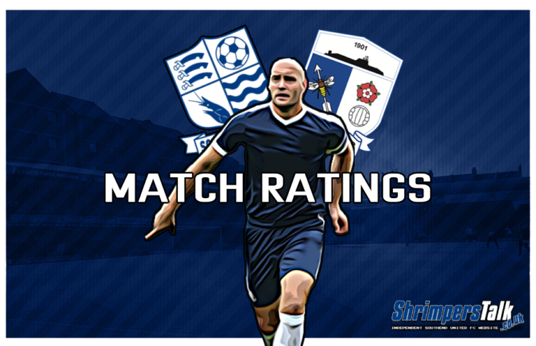 MATCH RATINGS: Rating The Shrimpers After The 1-2 Victory Away At Barrow AFC